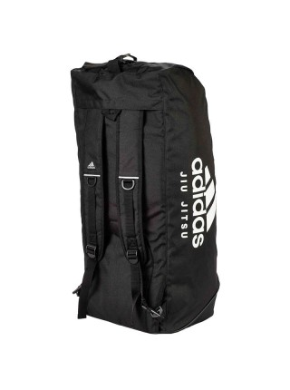 "Сумка-рюкзак Adidas 2in1 Bag ""Jiu-Jitsu"" Nylon, adiACC052 Черная"