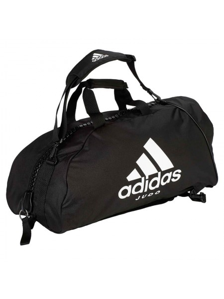 "Сумка-рюкзак Adidas 2in1 Bag ""Judo"" Nylon, adiACC052 Черная"