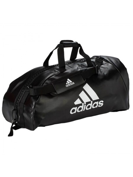 "Сумка-рюкзак Adidas 2in1 Bag ""Martial arts"" PU, adiACC051 Черная"