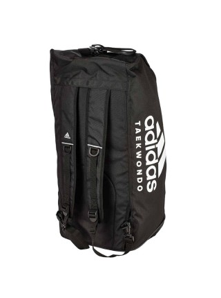 "Сумка-рюкзак Adidas 2in1 Bag ""Taekwondo"" Nylon, adiACC052 Черная"